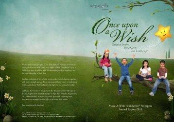 Make-A-Wish Foundation® Singapore Annual Report 2010