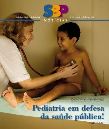 Pediatria em defesa da saúde pública! - Sociedade Brasileira de ...