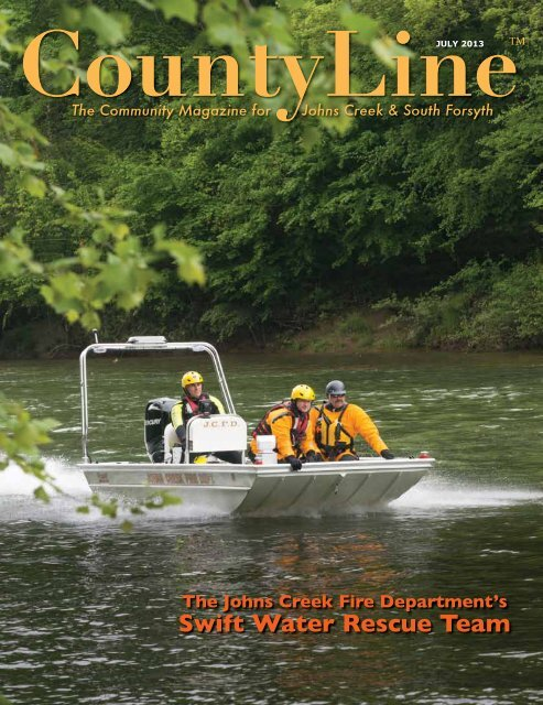 Swift Water Rescue Team - County Line Magazine