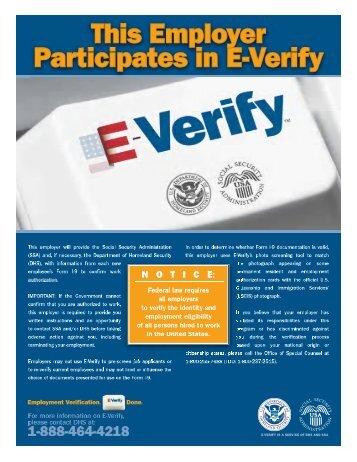 E-Verify - Smartronix