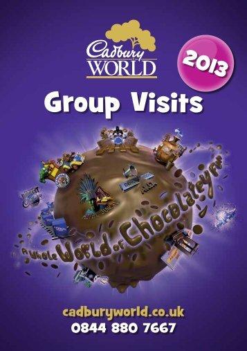 Group Visits - Cadbury World