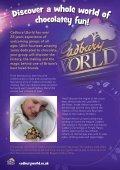 Group Visits - Cadbury World - Page 2