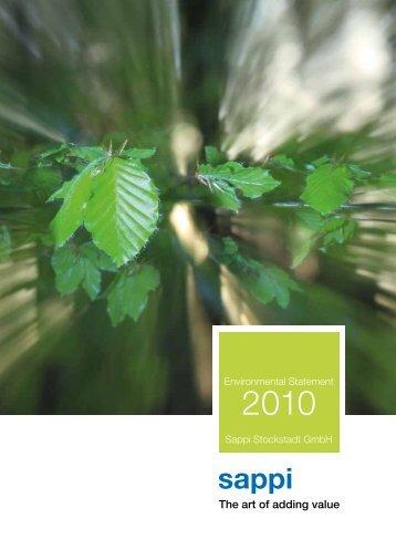2010 EMAS Umwelterklaerung 3.7 MB - Sappi