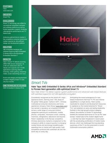 Smart TVs - AMD