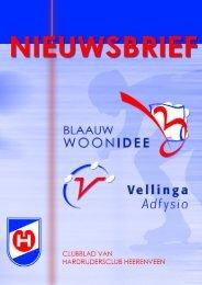 Nieuwsbrief April 2007 - HCH - Heerenveen