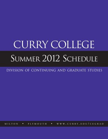 TERM II - Curry College