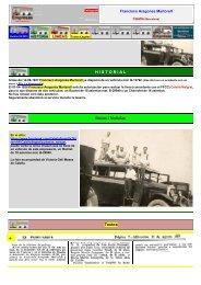 H I S T O R I A L Notas / Noticias Textos - Empresas Autobuses Líneas