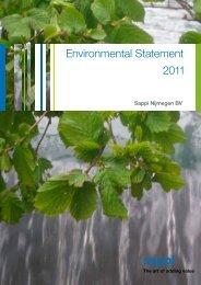 2011 Environmental Statement 1.8 MB  -  Sappi