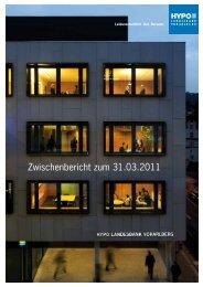 Zwischenbericht zum 31.03.2011