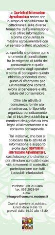 Sportello di Informazione Agroalimentare - Federconsumatori - Page 2
