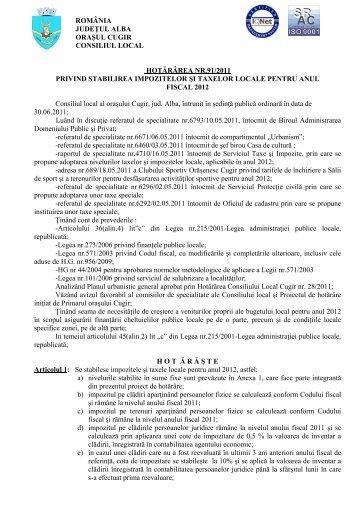 Taxele si Impozitele pentru anul 2012.pdf