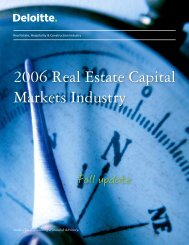 bReal/b Estate, Hospitality amp; Construction Industry 2006