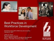 Download - John J. Heldrich Center for Workforce Development ...
