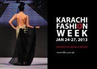 Karachi Fashion Week 2013 - PRGMEA