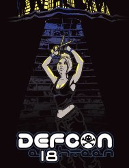 DEF CON 18 Program - Up