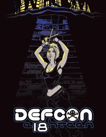 DEF CON 18 Program - Up