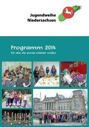 Programm 2014 - Jugendweihe Niedersachsen