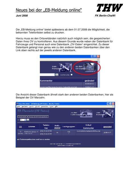 """Neues bei der """"EB-Meldung online"""" - THW Ortsverband Berlin ..."""