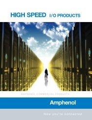 Amphenol High Speed Input Output Connectors.pdf - ECCO ...