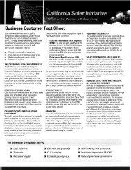 CSI - Business Customer Fact Sheet