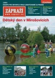Dětský den v Mirošovicích - Zápraží