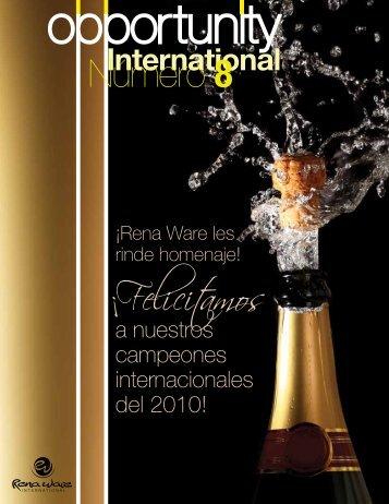 Número 8 ¡Felicitamos - Rena Ware El Salvador