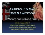 Michael K. Atalay, MD, PhD, FSCCT - Riacc.org