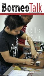 Skills' the Deal! - Borneo Talk