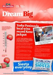 Issue 25 - September 2010 - SA Lotteries