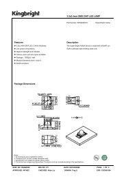 3.2x2.4mm SMD CHIP LED LAMP Features Description Package ...