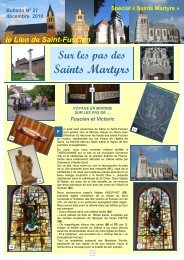 Lien n°27 spécial Saints Martyrs - Saint-Fuscien