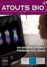 Atouts Bio n°6 - Direction des sciences du vivant - CEA