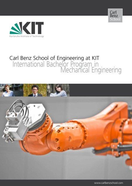 International Bachelor Program in Mechanical Engineering
