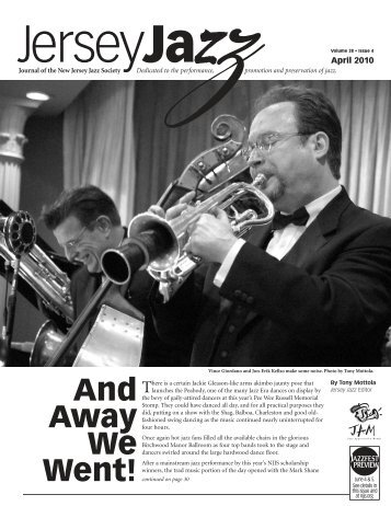 And Away We Went! - New Jersey Jazz Society