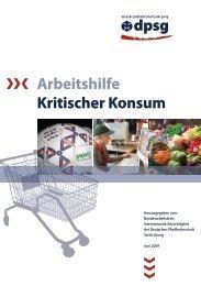 Arbeitshilfe Kritischer Konsum - Evangelische Jugend von Westfalen
