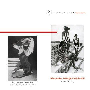 Alexander George Lazich-Hill - Kunstverein Hockenheim