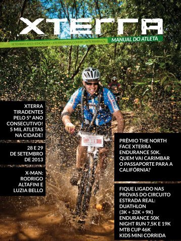 manual do atleta - XTerra