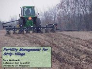 Fertility Management for Strip-tillage