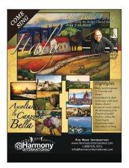 download registration documents - Harmony International