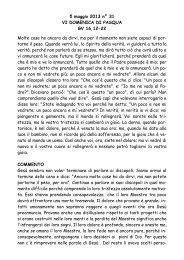 VI Domenica dopo Pasqua gv 16,12-22 - San Pier Giuliano Eymard