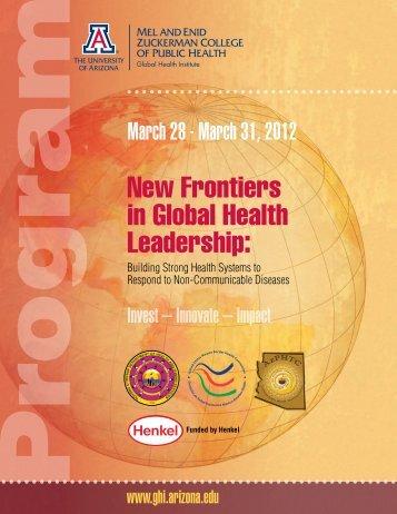 N - Global Health Institute - University of Arizona