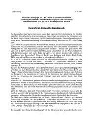Kurzreferat 070625 - Institut für Pädagogik