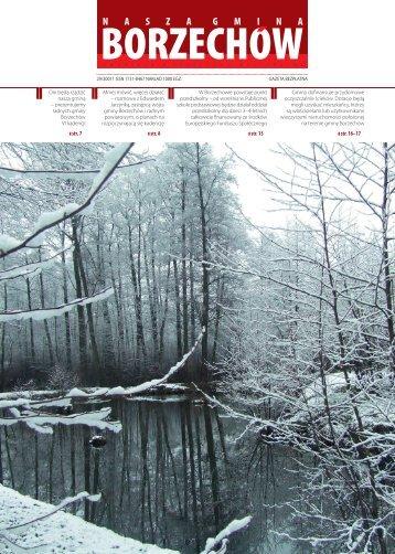  str. 7  str. 16–17  str. 8  str. 15 - Gmina Borzechów