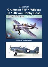 Grumman F4F-4 Wildcat in 1:48 von Hobby Boss