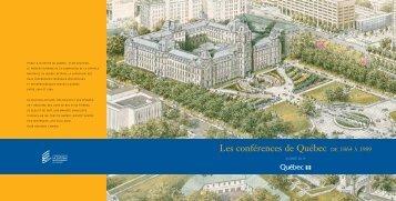 Les conférences de Québec - Commission de la capitale nationale ...