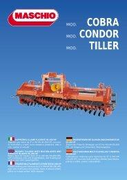 COBRA MOD. CONDOR TILLER - almex