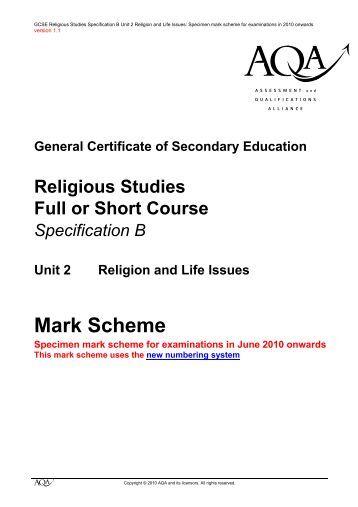 Aqa sociology coursework mark scheme