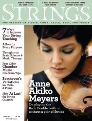 7 Ways to Improve Your String Teaching A Bow for Every Purpose ...