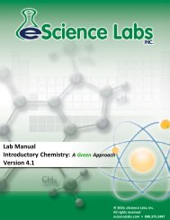 Lab 2: The Scienfic Method - eScience Labs
