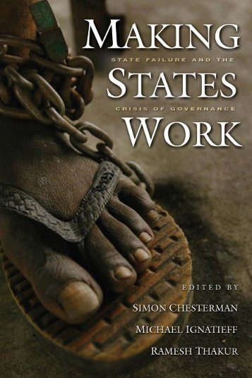Making states work - United Nations University